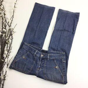 Banana Republic Women Size 6 Medium Wash Jeans L30